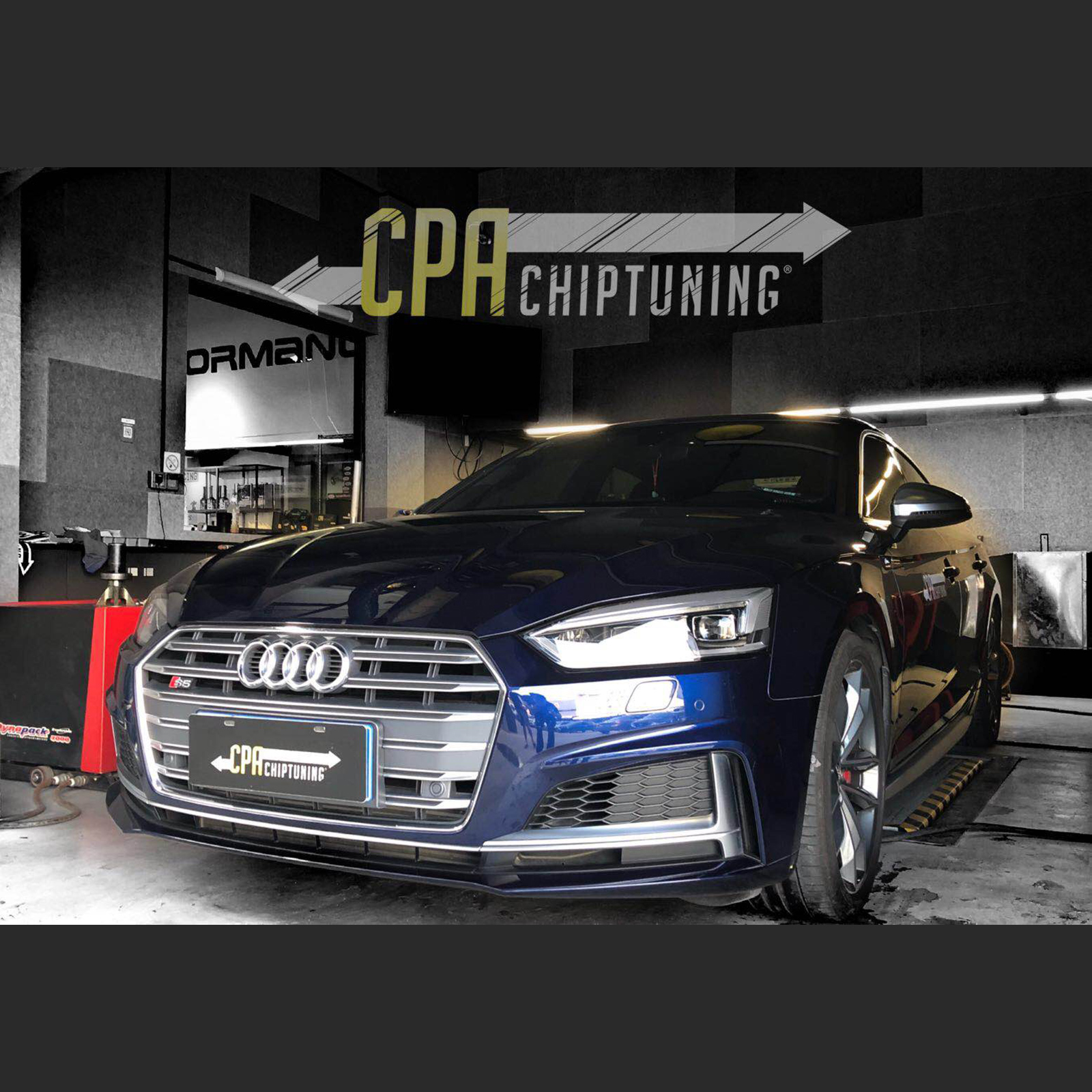 Chiptuning Audi: S5 cu CPA Power