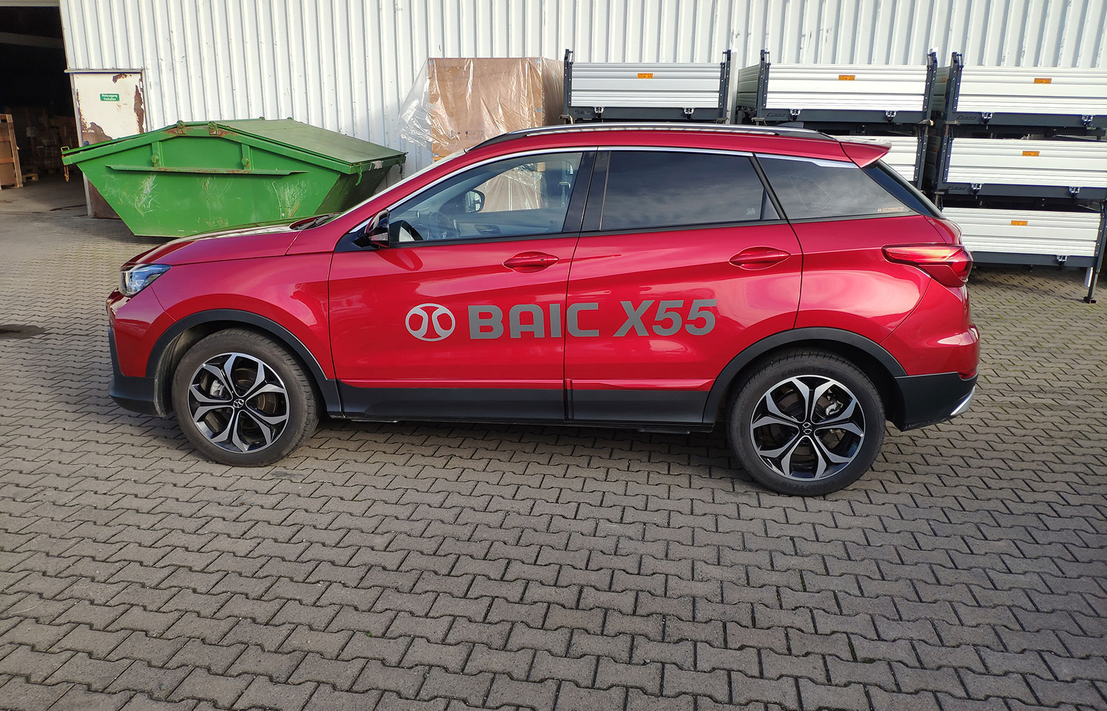 BAIC X55 AT 1.5T în test la CPA