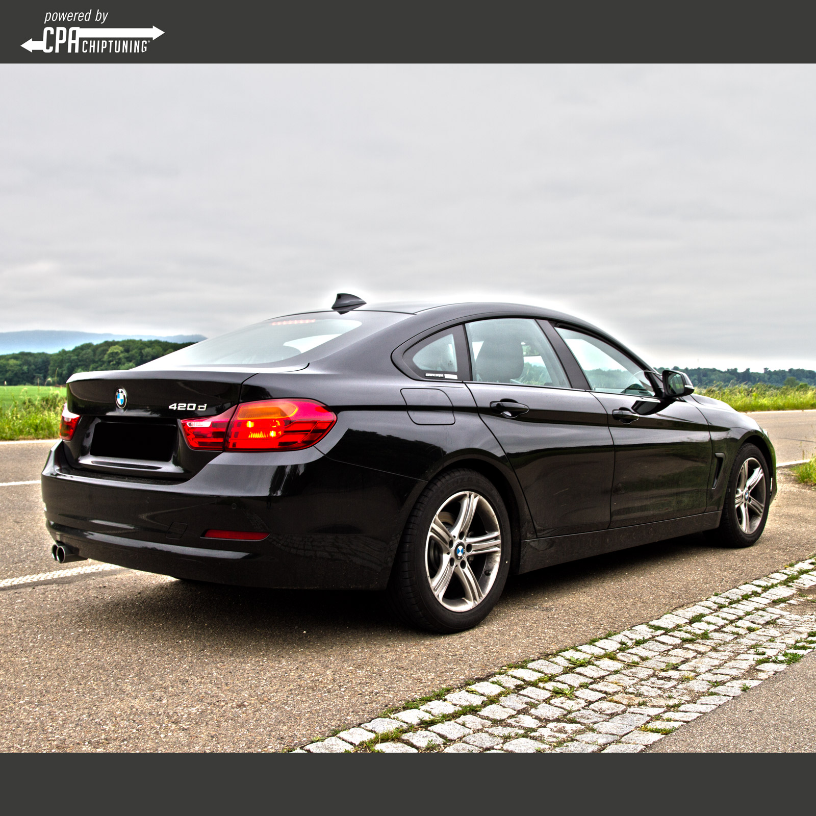 In test –  BMW 420d